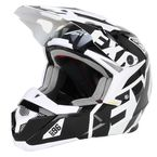 Youth Black/White X1 Helmet - 15401