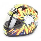 Black/Yellow/Red Signet-Q Abraham Helmet  - SIGNET-Q