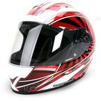 Red/White/Black EXO-R2000 Ion Helmet - 200-1015