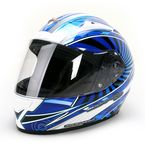 Blue/White/Black EXO-R2000 Ion Helmet - 200-1027