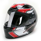 Black/Red/White EXO-R2000 Circuit Helmet - 200-2017