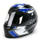 Black/Blue/White EXO-R2000 Circuit Helmet - 200-2027