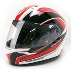 Red/White/Black EXO-R410 Incline Helmet - 41-1015