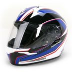 Blue/White/Black EXO-R410 Incline Helmet - 41-1025