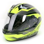 Neon Green/Black EXO-R410 Airline Helmet - 41-8535