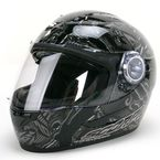 Black/Gray EXO-500 Crude Helmet - 50-9445