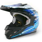 Blue/Black/White VX-R70 Flux Helmet - 70-2025
