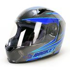 Silver/Blue/Black MC-2 R1000X Lithium Helmet - 158-924