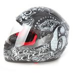 Matte Black SS1500 6 Speed Sisters Helmet - 87-5689