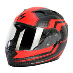 Red/Black EXO-T1200 Alias Helmet - T12-1015