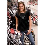 Womens Wing T-Shirt - B8101BKXL