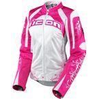 Womens Pink Contra Speed Queen Jacket - 2822-0381