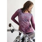 Women's Valentine Long Sleeve Tee - 3169L