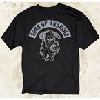 SOA Logo Patch T-Shirt - 28-601-10BK-L
