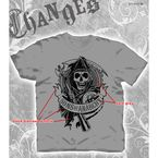 SOA Flocked Gear T-Shirt - 28-671-18CH-M