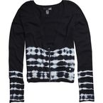 Womens Black Shake It Cardigan - 56009-001-XS