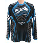 Black/Blue Coldcross Jersey