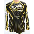 Black/Yellow Coldcross Jersey