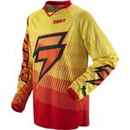 Red/Yellow Strike Zero Jersey - 02395-080-S