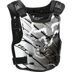 White/Black Proframe LC Future Roost Deflector - 06121-058-L/XL