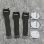 Youth White Boot Strap Kit - 34300433