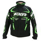 Black/Green Backshift Pro Jacket - 13110