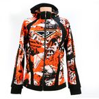 Orange Sabotage Ryder Softshell Hoody