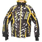 Black/Yellow/White RRS Edition Vapour Lite Jacket - 14104