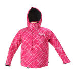 Youth Fuchsia Plaid Squadron Jacket