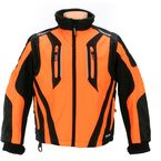 Youth Black/Orange Storm Jacket - 1408-073