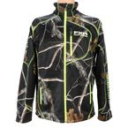 Realtree AP Black Camo Elevation Fleece Zip-Up - 15815