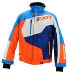 Blue/Orange Turbo Jacket - 15115