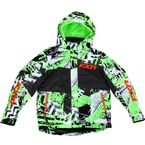 Youth Lime Sabotage Squadron Jacket