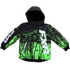 Childs Black/Lime Fury Boost Jacket