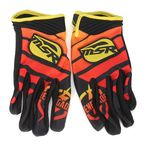 Black/Yellow/Red Renegade Gloves - 352169