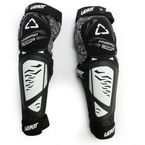Black/White 3DF Hybrid EXT Knee and Shin Guards - 5015400460