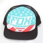 Womens Black Intake Trucker Hat - 13869-001-OS