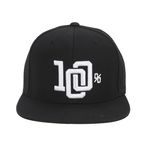 Black College Snapback Hat - 20033-001-01