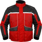Womens Red/Black Cascade Jacket - 8700-0201-75