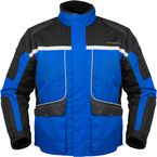 Womens Blue/Black Cascade Jacket - 8700-0202-73