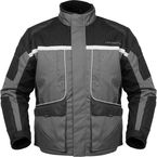 Womens Gun Metal/Black Cascade Jacket - 8700-0207-74