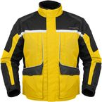 Womens Yellow/Black Cascade Jacket - 8700-0203-74