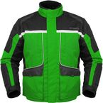 Womens Green/Black Cascade Jacket - 8700-0204-74