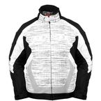 White/Black Blitz Snowcross Jacket - 8900-0109-05
