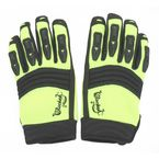 Womens Hi-Viz Neon/Black Velocity Gloves - 1330-0405