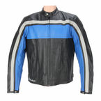Black/Blue/Gray Old School Jacket - 1052-2204