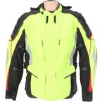 Womens Hi-Vis Yellow/Black Adventure Tour Jacket - 6051-0113-76