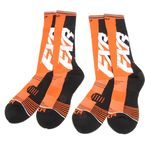 Orange/Black Clutch Performance Socks - 181610-3010-00