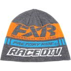 Charcoal Heather/Orange Race Division Beanie - 173325-0630-00