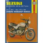 Suzuki Motorcycle Repair Manual  - 736